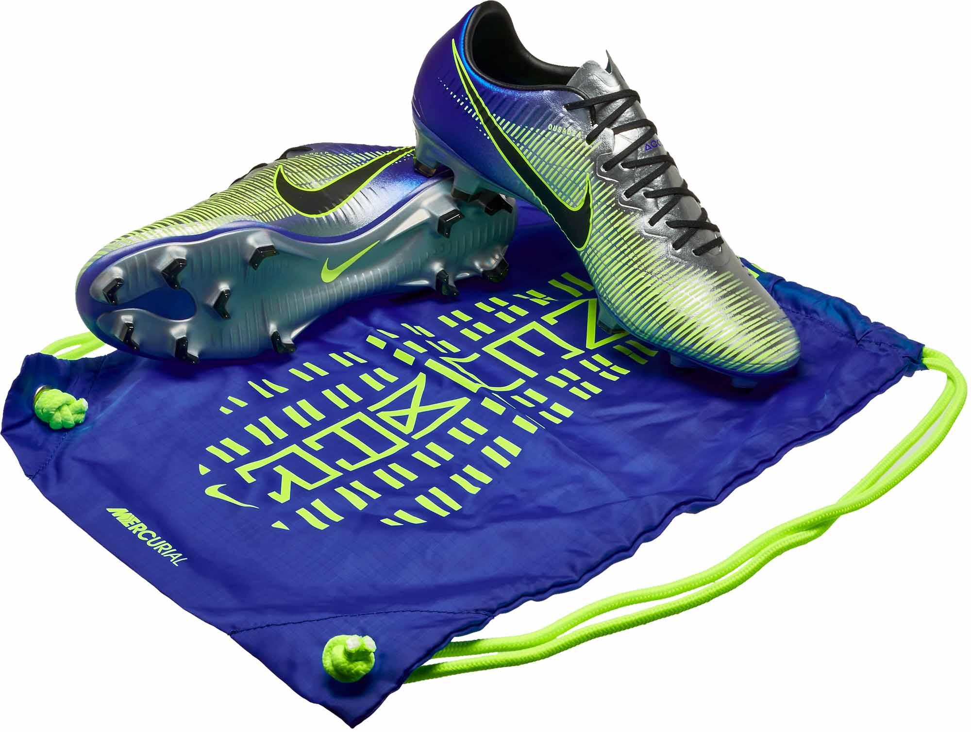 reputable site 3eaad af818 Nike Mercurial Vapor XI FG - Neymar Jr - Racer Blue & Chrome
