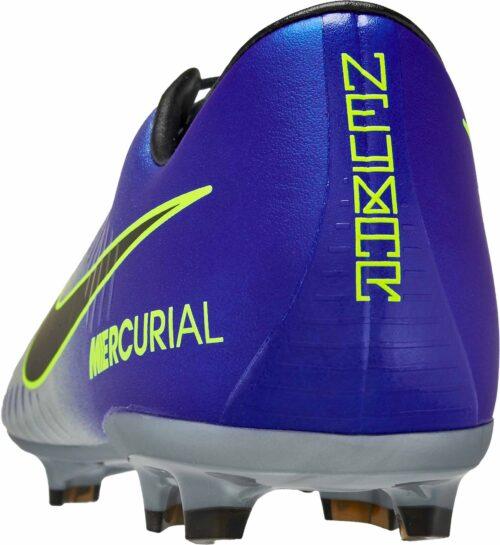 Nike Kids Mercurial Vapor XI FG – Neymar Jr – Racer Blue/Chrome