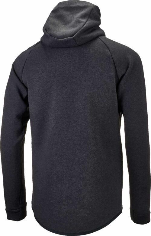 Nike Tottenham Tech Fleece Windrunner Jacket – Black Heather/Opti Yellow