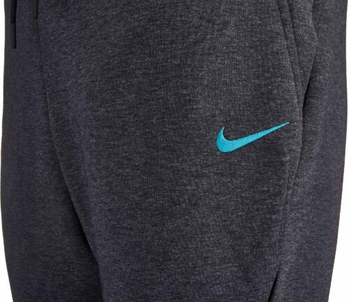 Nike Chelsea Tech Fleece Jogger Pants – Black Heather/Omega Blue