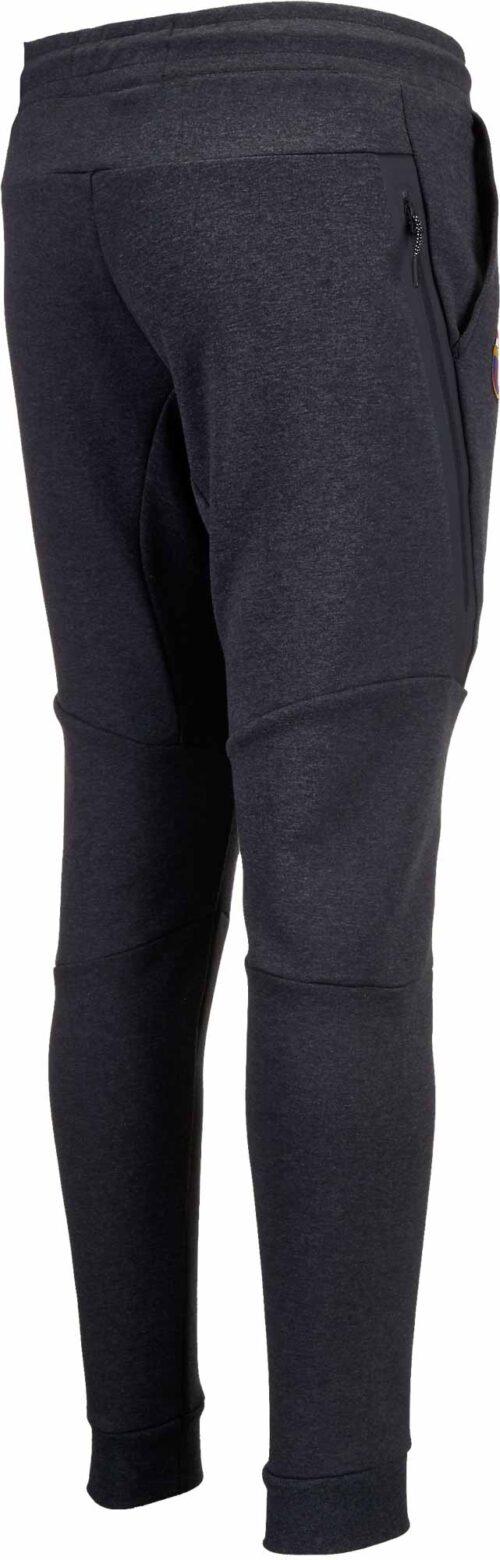Nike Barcelona Tech Fleece Jogger Pants – Black Heather/Hyper Crimson