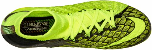 Nike Kids Hypervenom Phantom III DF FG – EA Sports – Volt/Black