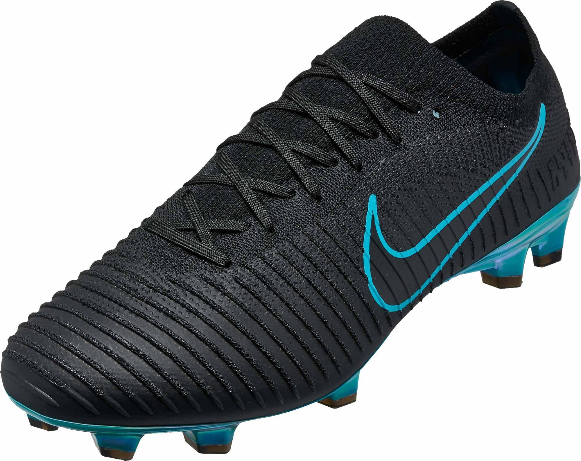 6987aa9c9b4d0a Nike Flyknit Ultra FG - Black   Gamma Blue