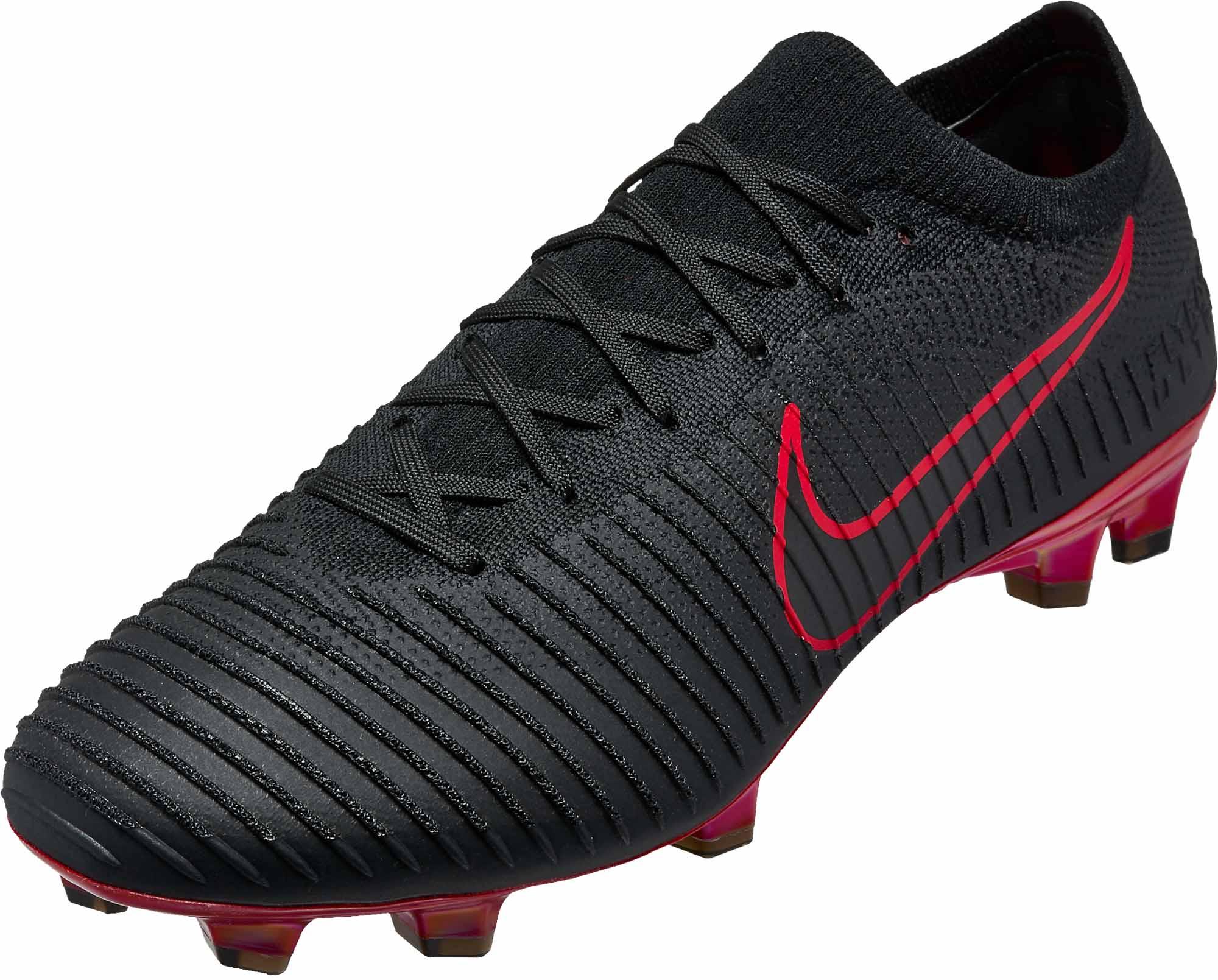 Nike Flyknit Ultra FG - Black