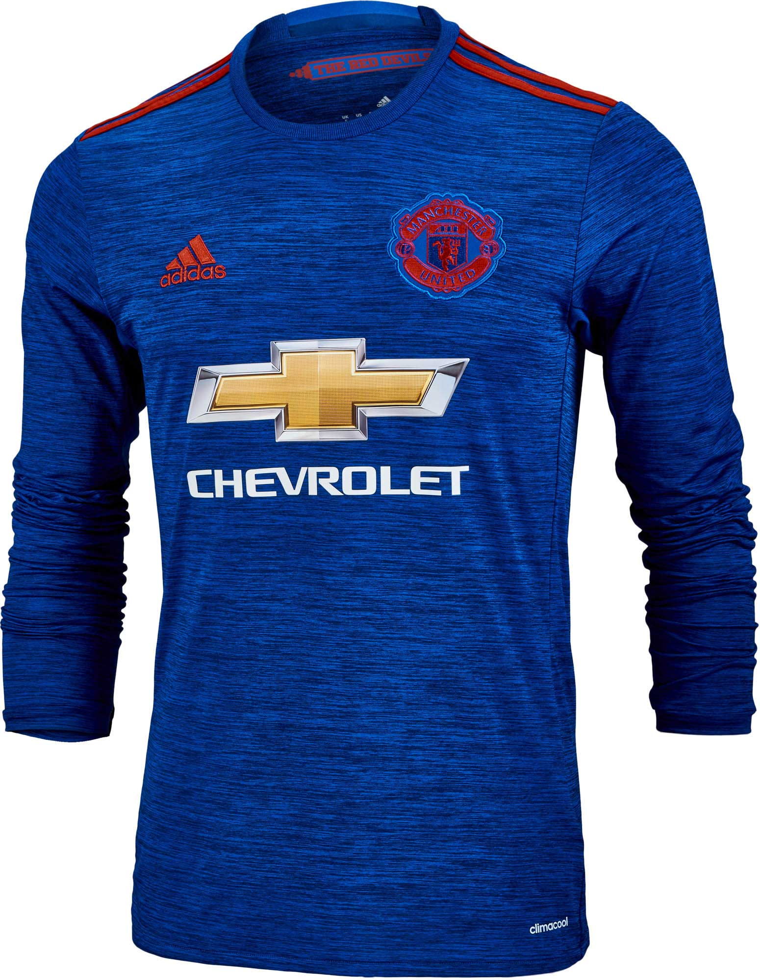 5c47336f2 adidas Manchester United L S Jersey - 2016 Man United Away Jerseys