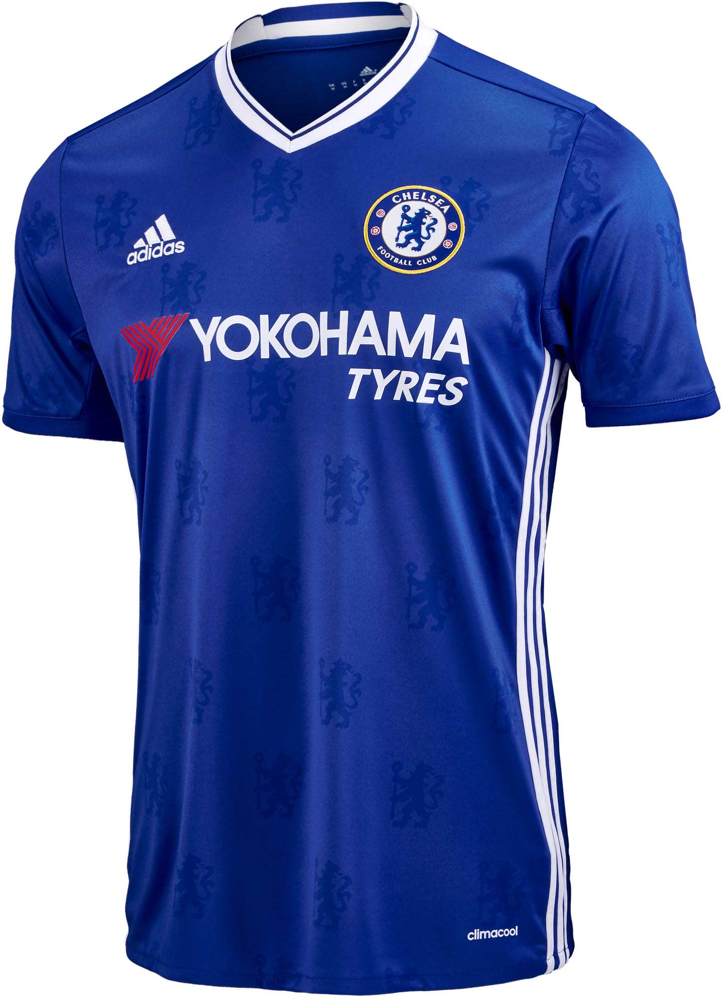 new product 0f403 f9245 adidas Chelsea Home Jersey 2016-17