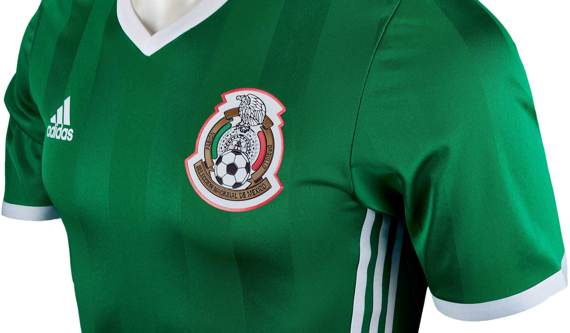 3927091b0 adidas Mexico Authentic Home Jersey - 2016 Mexico Jerseys