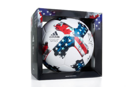 adidas MLS Nativo 17 Official Match Ball – White/Red
