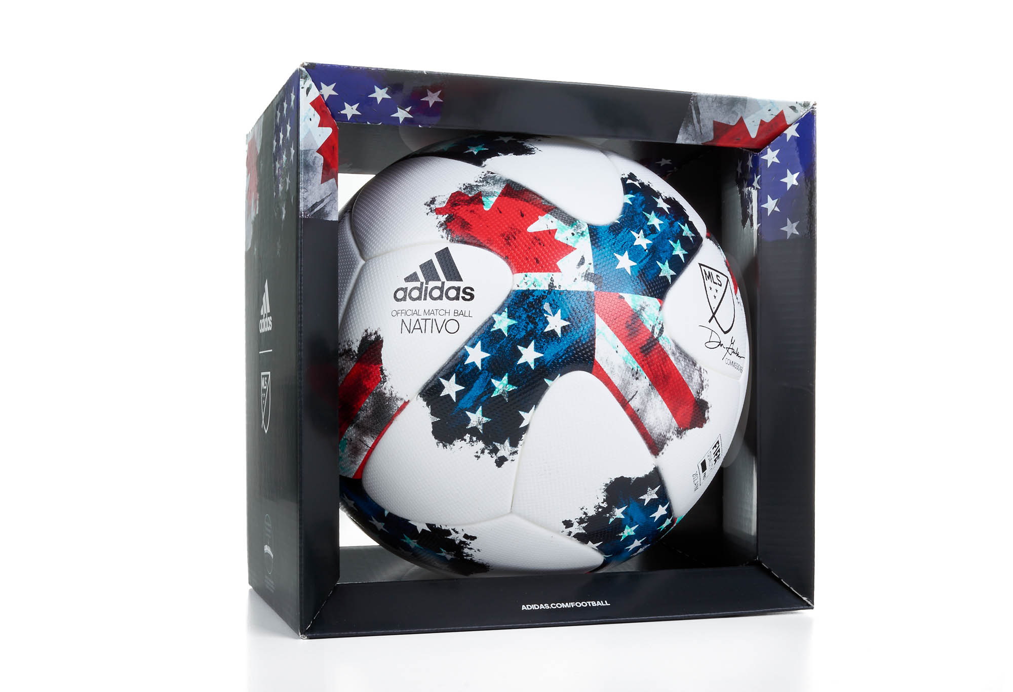 bb15e0cdd adidas MLS Nativo 17 Official Match Ball- SoccerPro.com