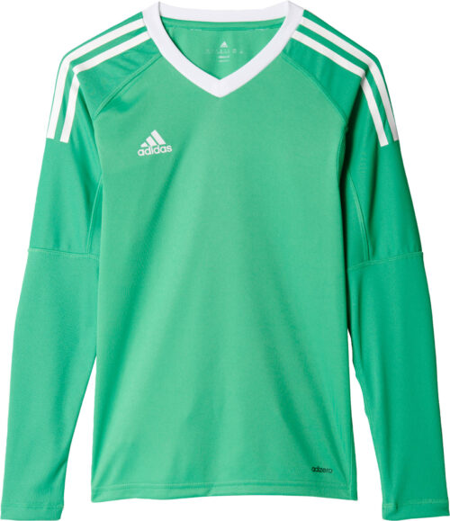 adidas Kids Revigo 17 Goalkeeper Jersey – Energy Green/White