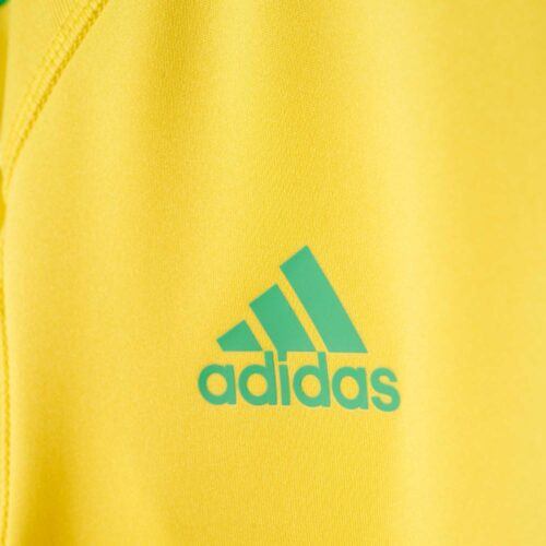 adidas Kids Revigo 17 Goalkeeper Jersey – Bright Yellow/Energy Green