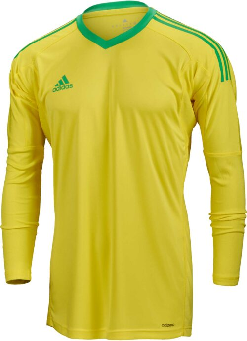 adidas Revigo 17 Goalkeeper Jersey – Bright Yellow/Energy Green