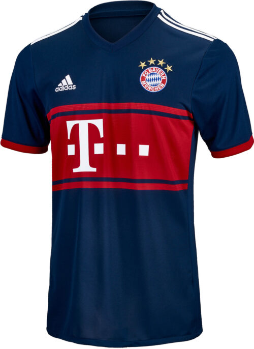 adidas Bayern Munich Away Jersey 2017-18 NS
