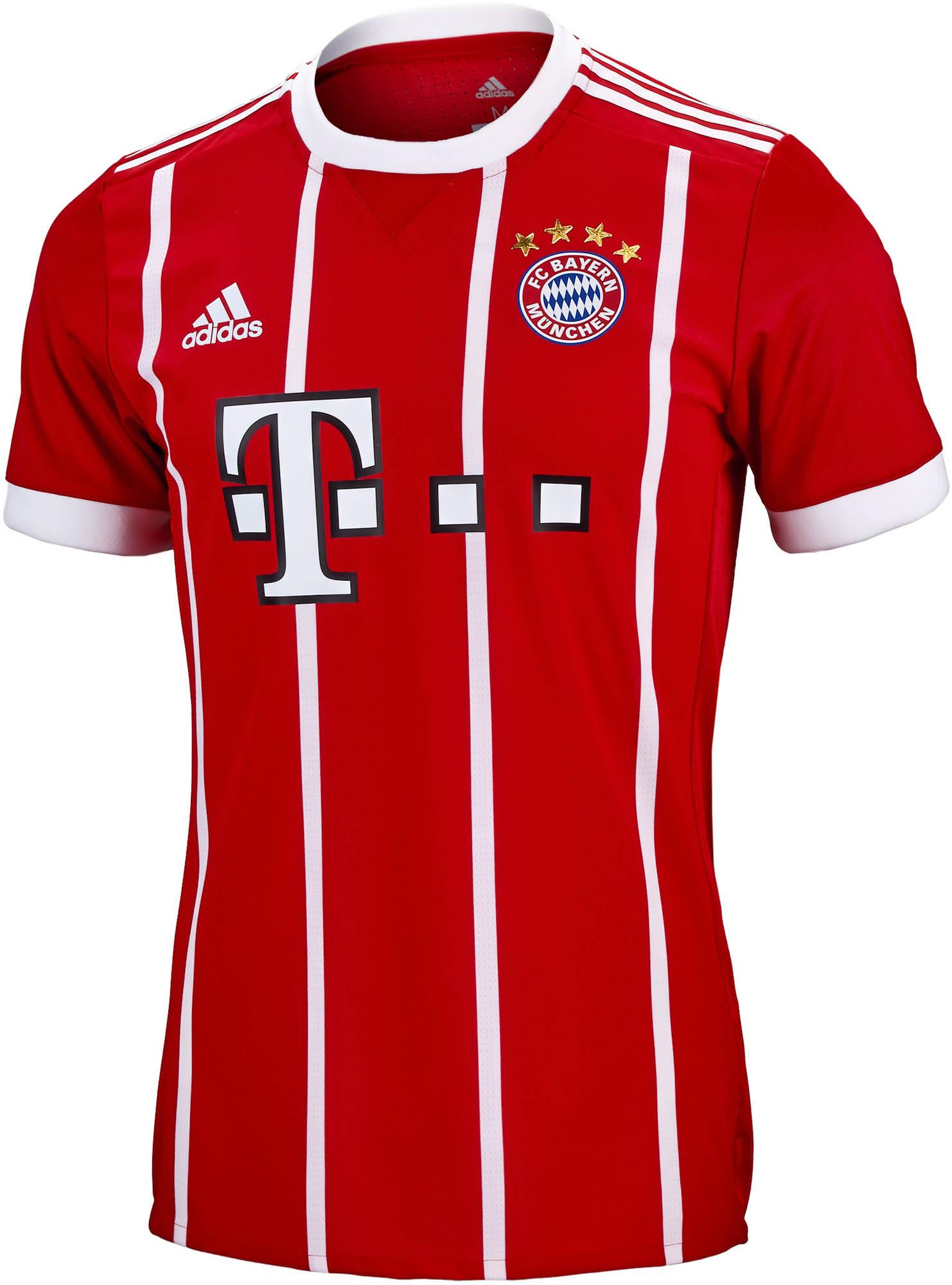 058f4d76b 2017/18 adidas Bayern Munich Authentic Home Jersey - SoccerPro.com