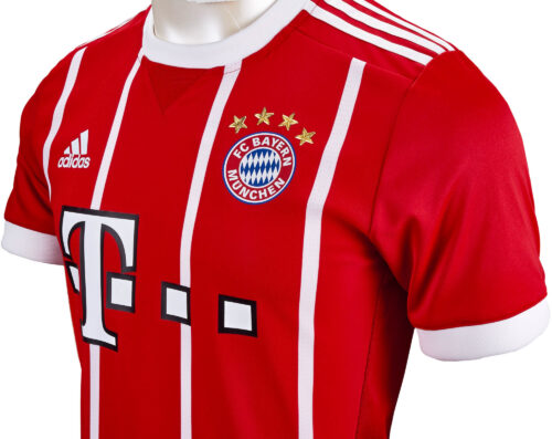 2017/18 adidas Bayern Munich Authentic Home Jersey