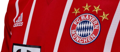 adidas Bayern Munich Home Jersey 2017-18 NS