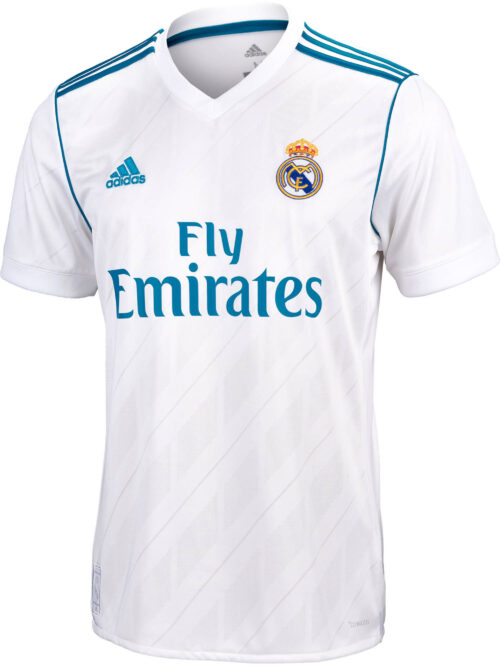 2017/18 adidas Kids Real Madrid Home Jersey