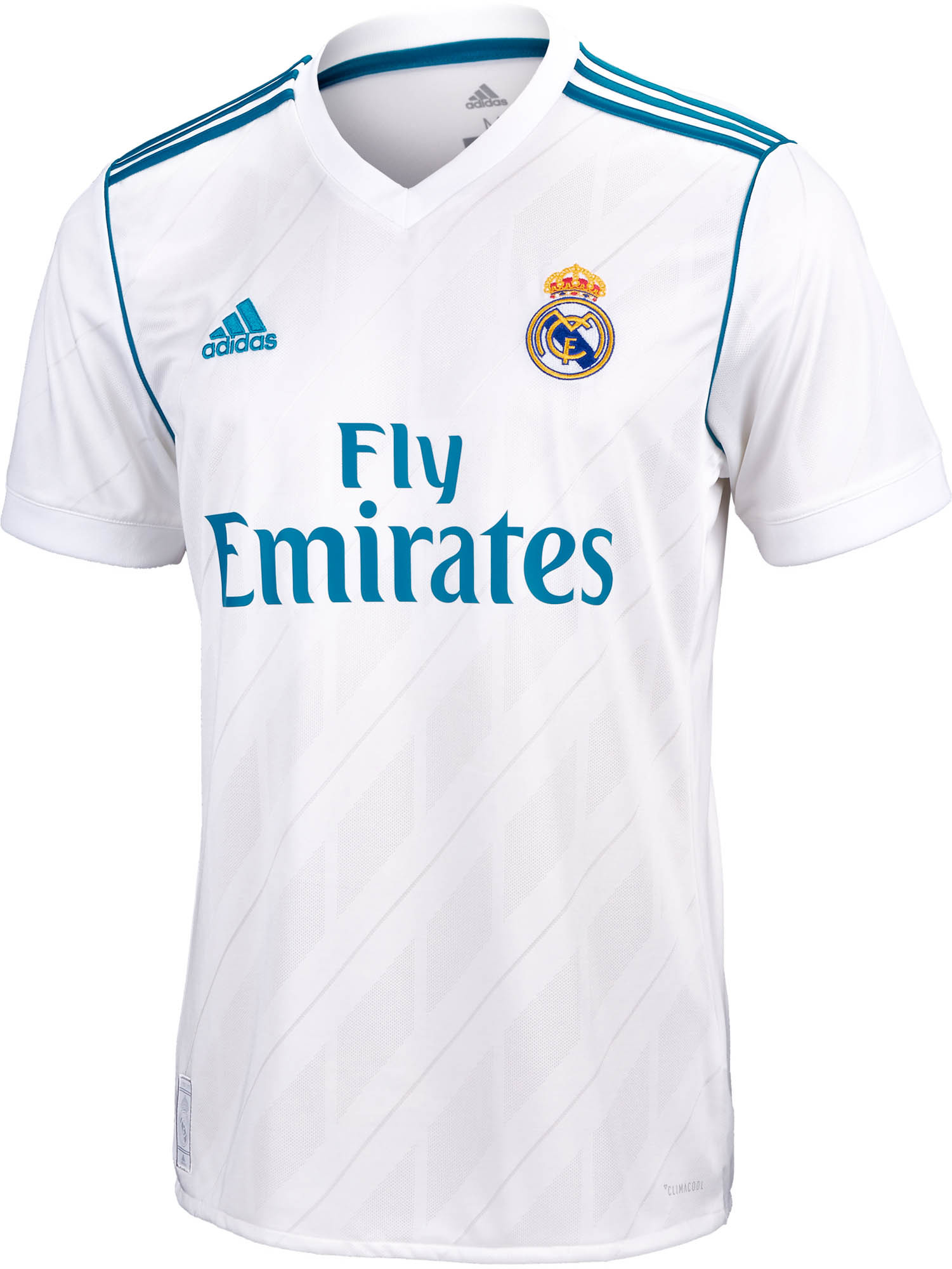 huge discount 68f9e 11424 201718 adidas Kids Real Madrid Home Jersey