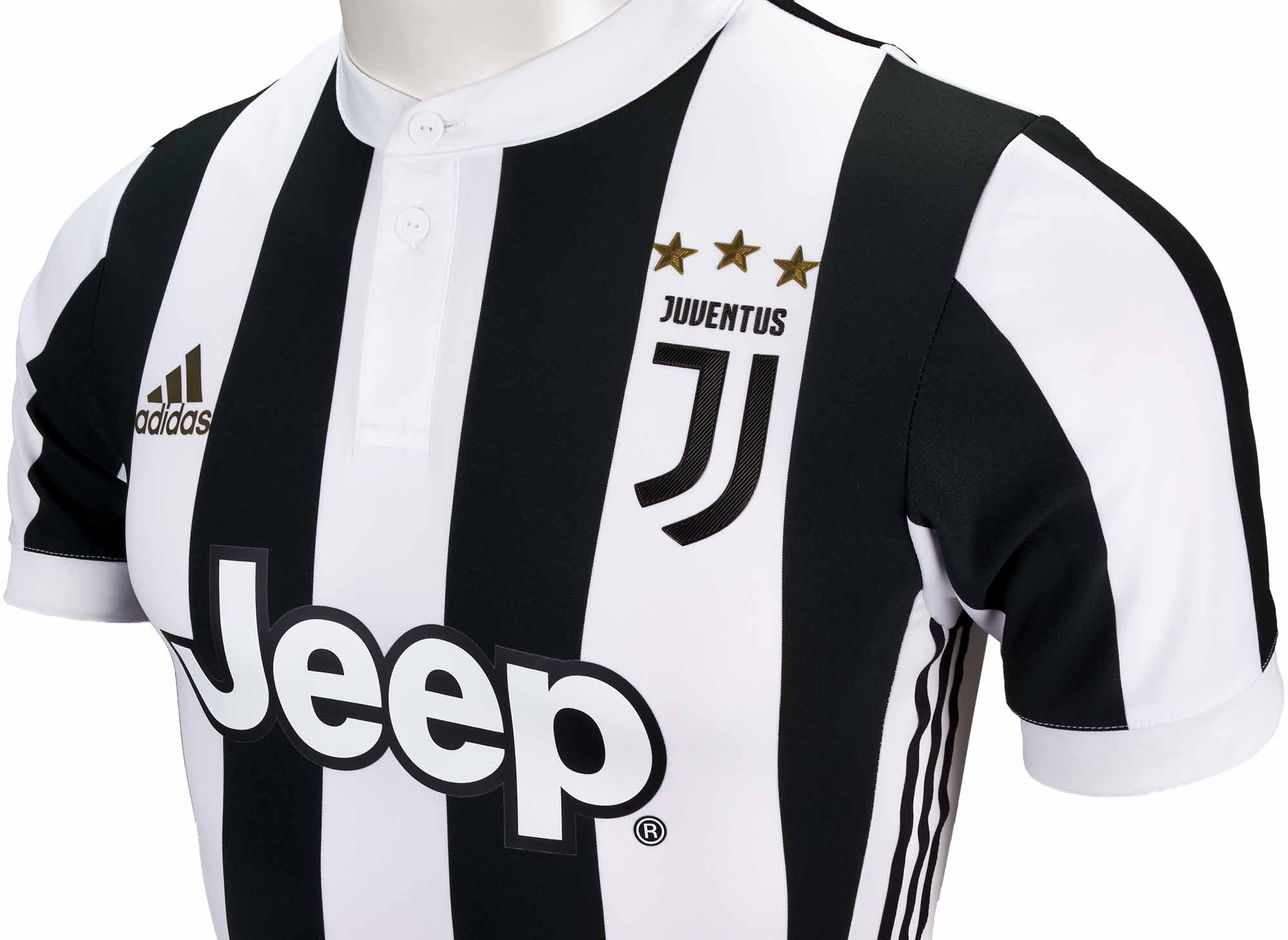 a8aced01672 adidas Juventus Authentic Home Jersey 2017-18