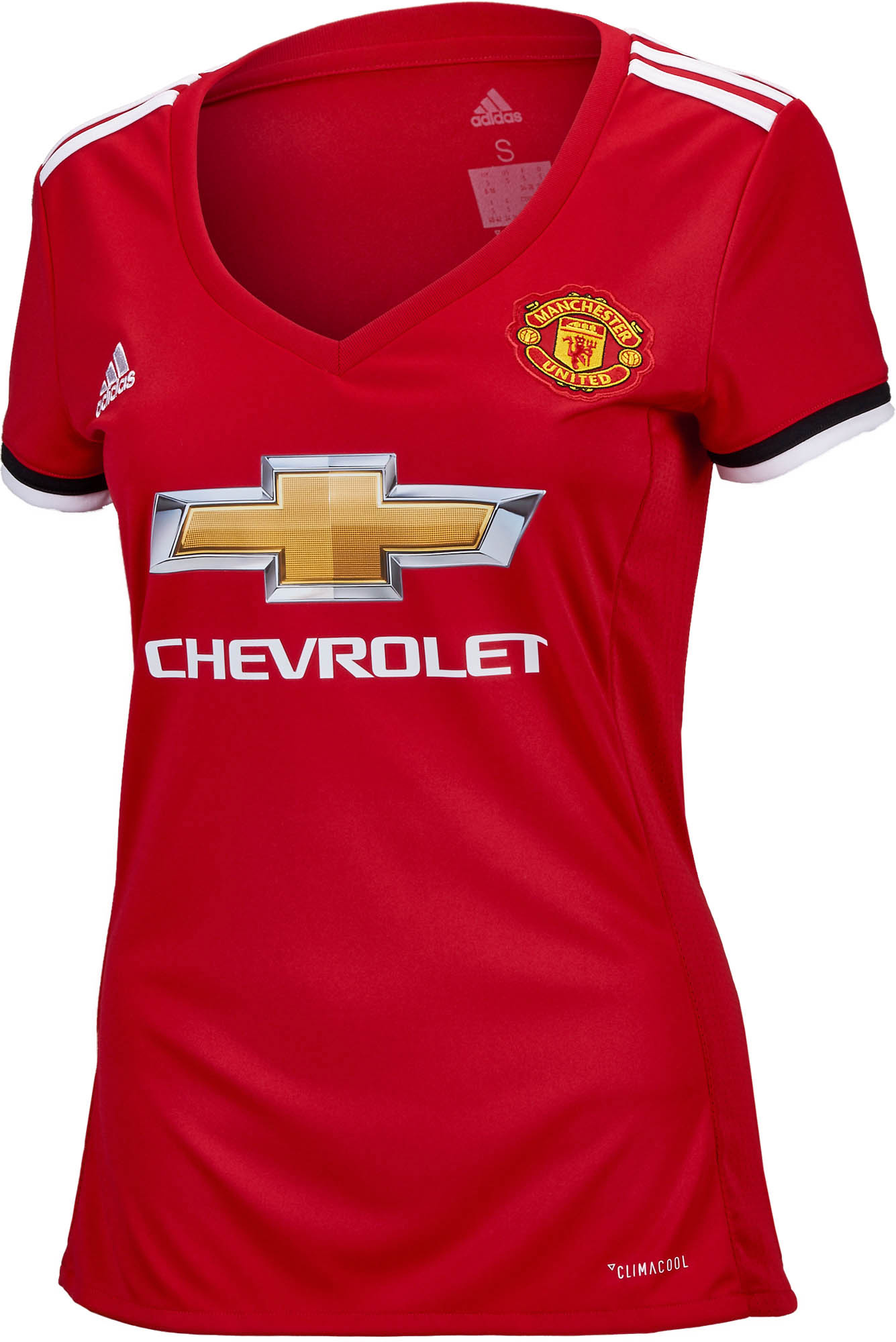 adidas Womens Manchester United Jersey - 2017/2018