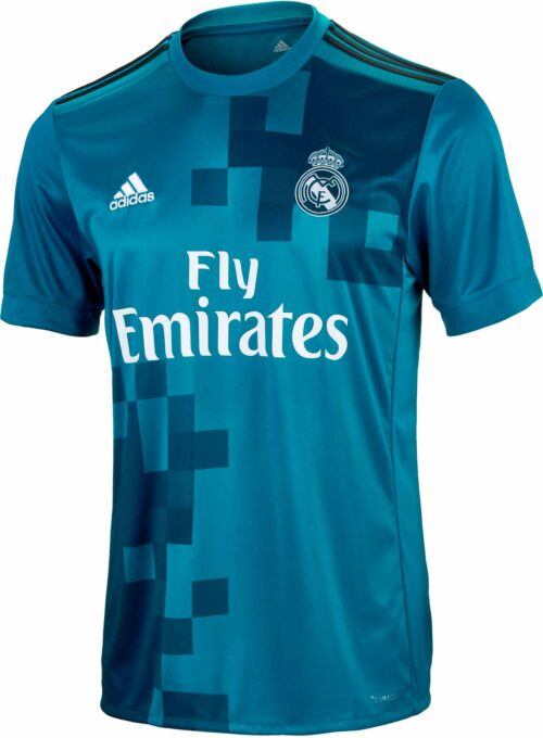 adidas Kids Real Madrid 3rd Jersey 2017-18 NS