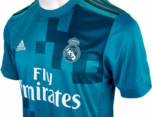 2017/18 adidas Kids Real Madrid 3rd Jersey