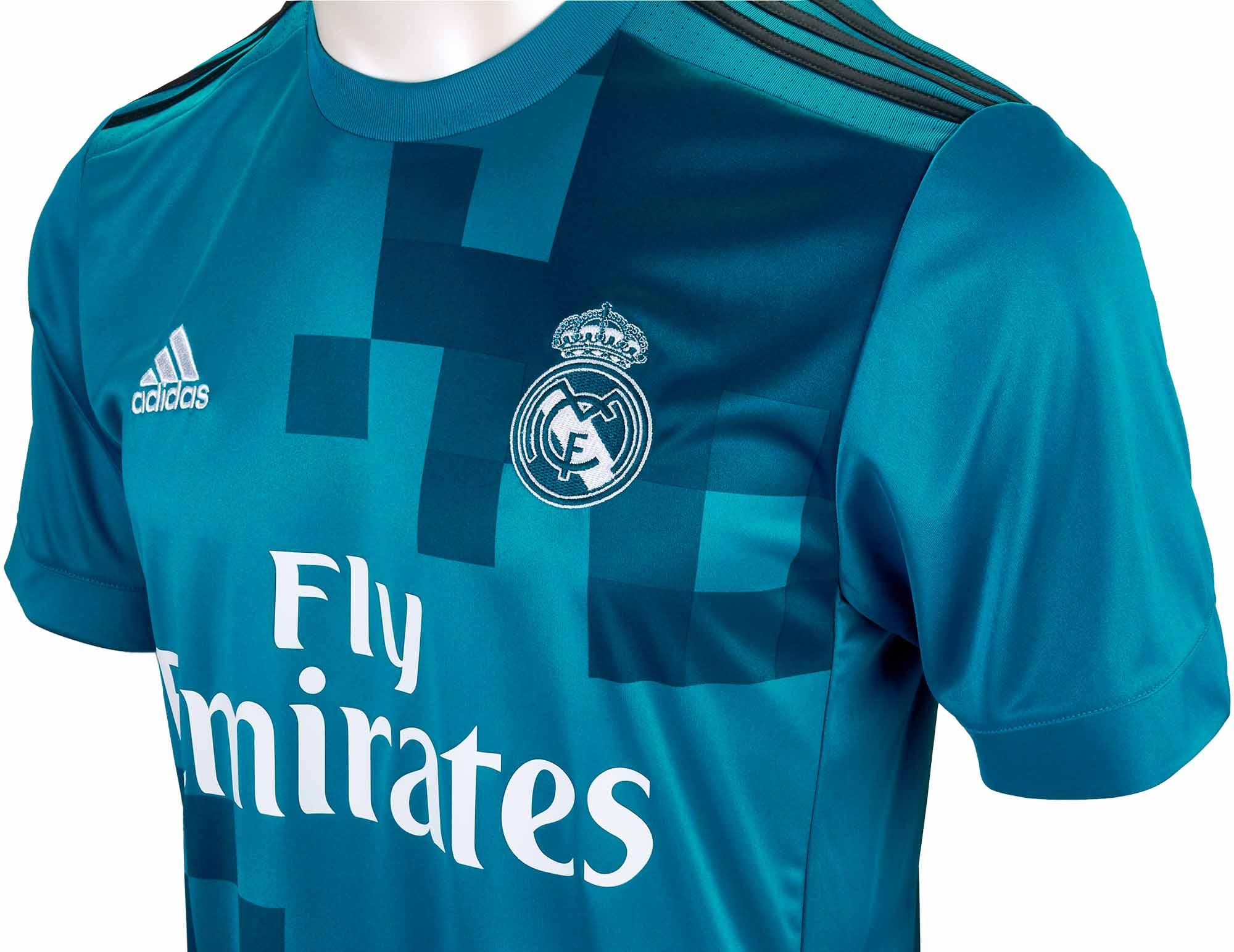 201718 adidas Kids Real Madrid 3rd Jersey SoccerPro