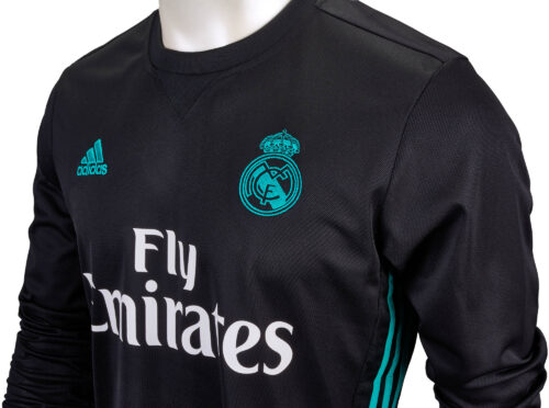 adidas Real Madrid L/S Away Jersey 2017-18