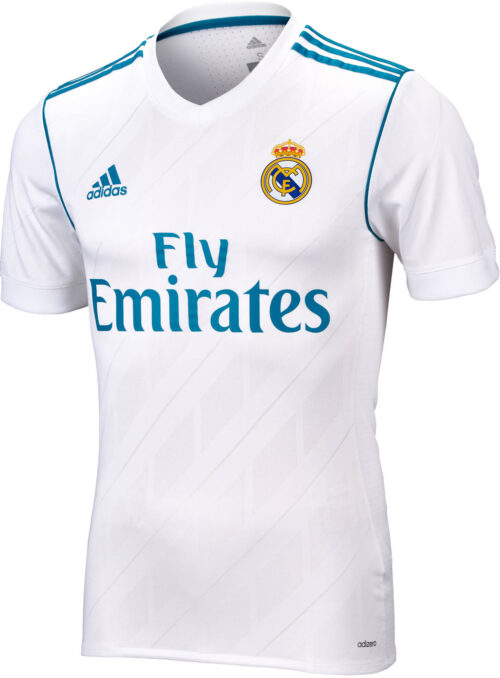 adidas Real Madrid Authentic Home Jersey 2017-18 NS