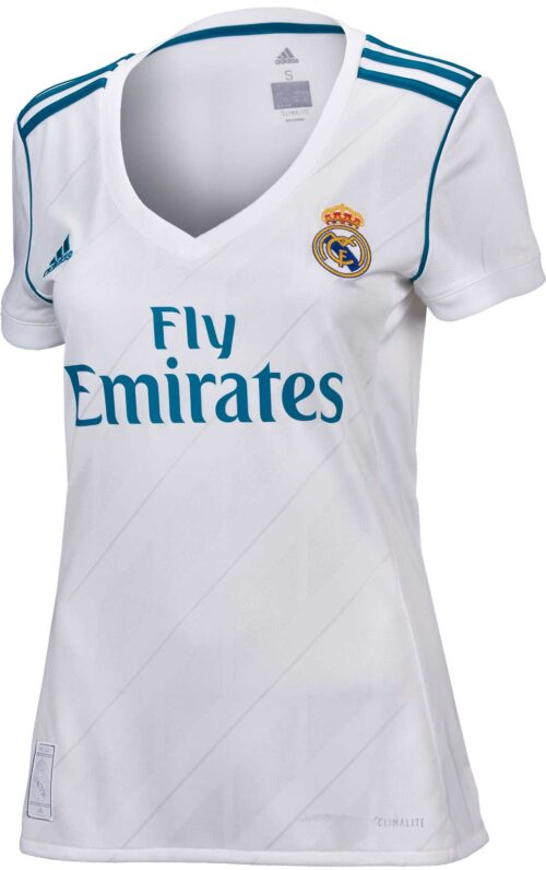 2017/18 adidas Womens Real Madrid Home Jersey
