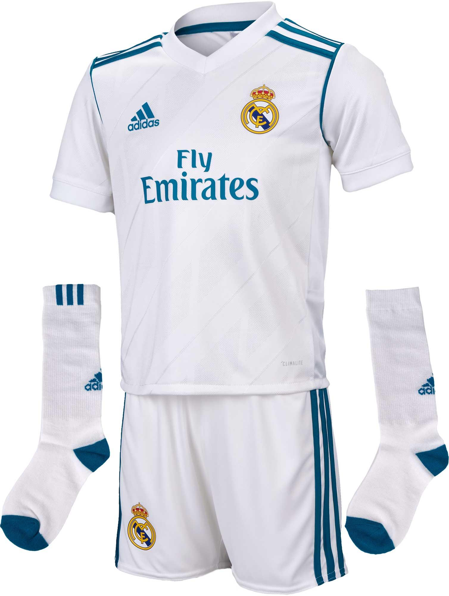 6531b1265 adidas Real Madrid Home Mini Kit - 2017 18 Real Madrid