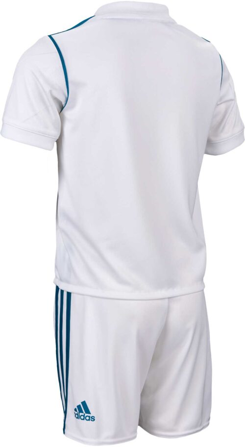 adidas Kids Real Madrid Home Mini Kit 2017-18