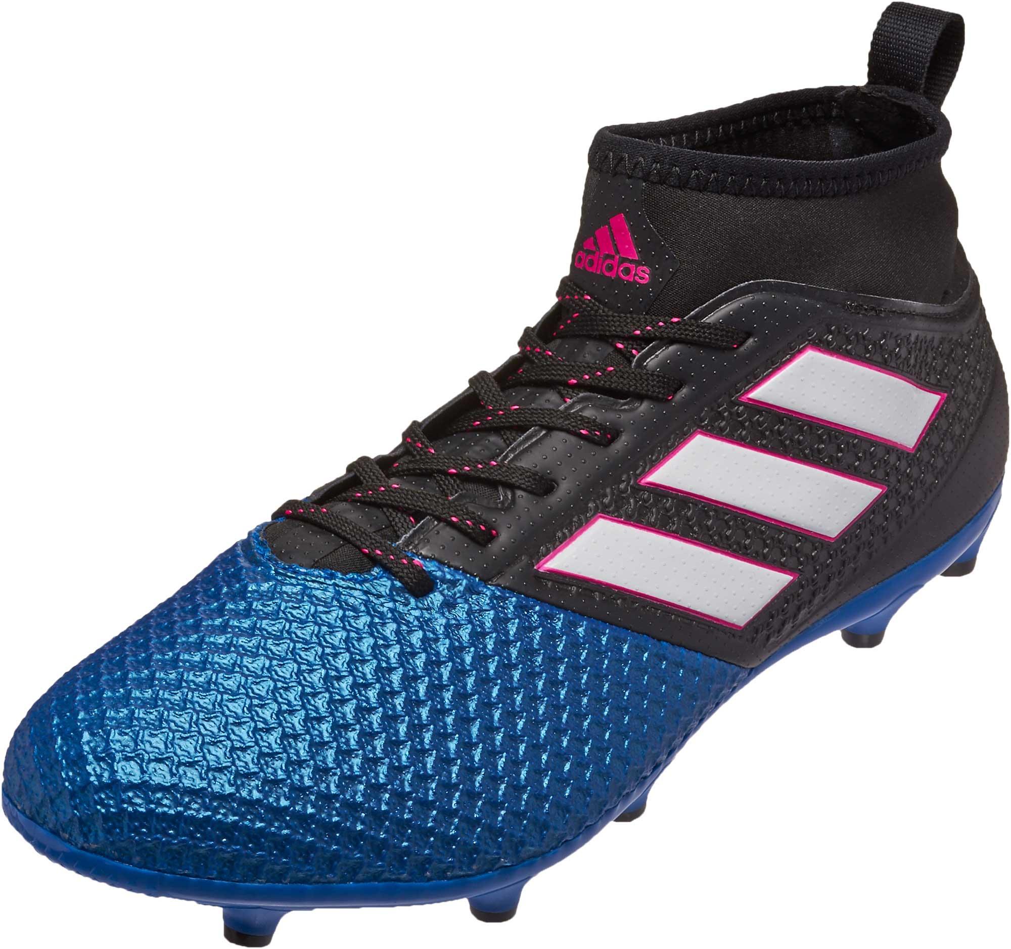 43b62c8ba2d adidas ACE 17.3 Primemesh FG Soccer Cleats - Black