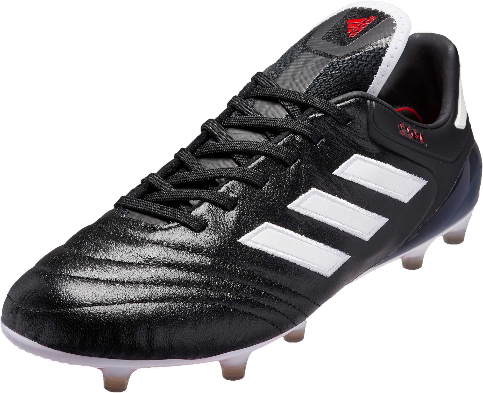 Black Red adidas Copa 17.1 FG Soccer Shoes - adidas Soccer Shoes 4c0637cfe