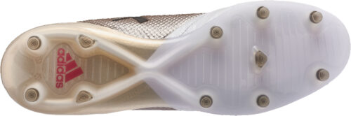 adidas Womens ACE 17.1 FG – Metallic Platinum/Red