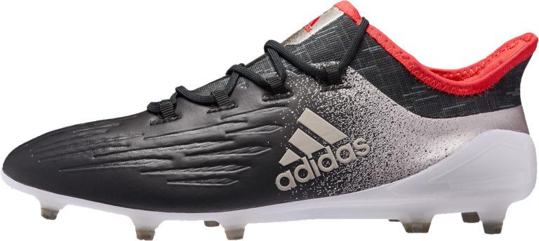 adidas Womens X 17.1 FG – Black/Metallic Platinum
