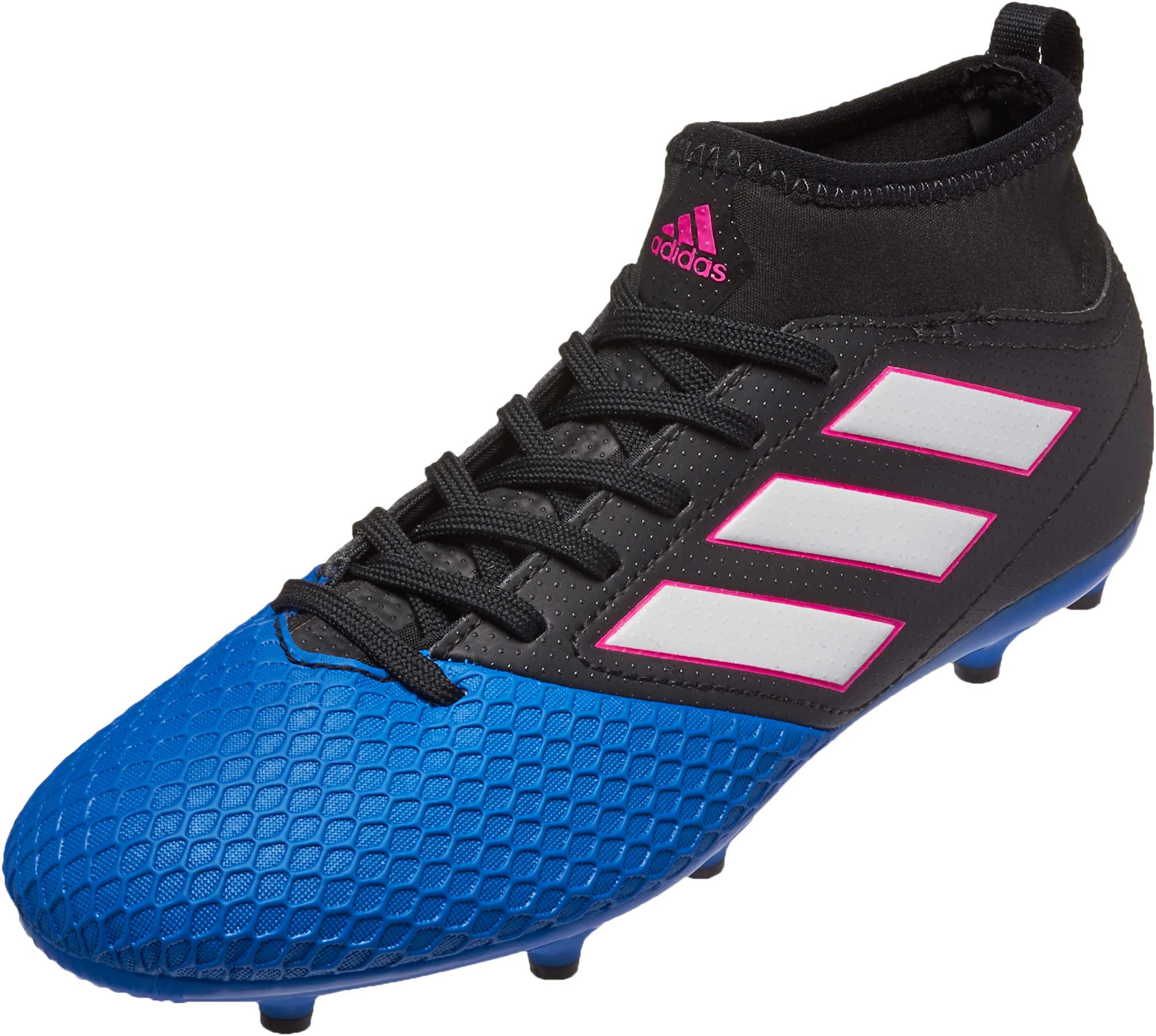 best service d42df 03bab adidas Kids ACE 17.3 FG – Black/Blue