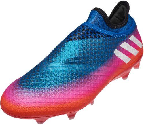 adidas Messi 16  Pureagility FG – Blue/Solar Orange