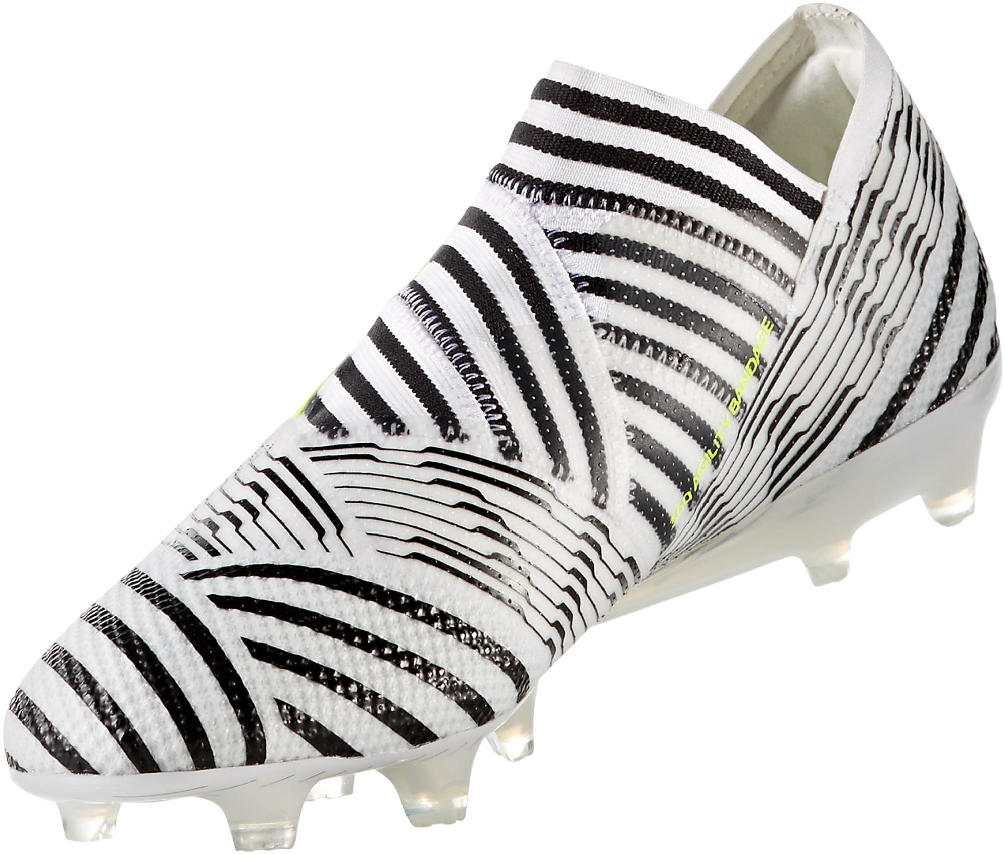 adidas Nemeziz 17 360Agility FG – WhiteSolar Yellow