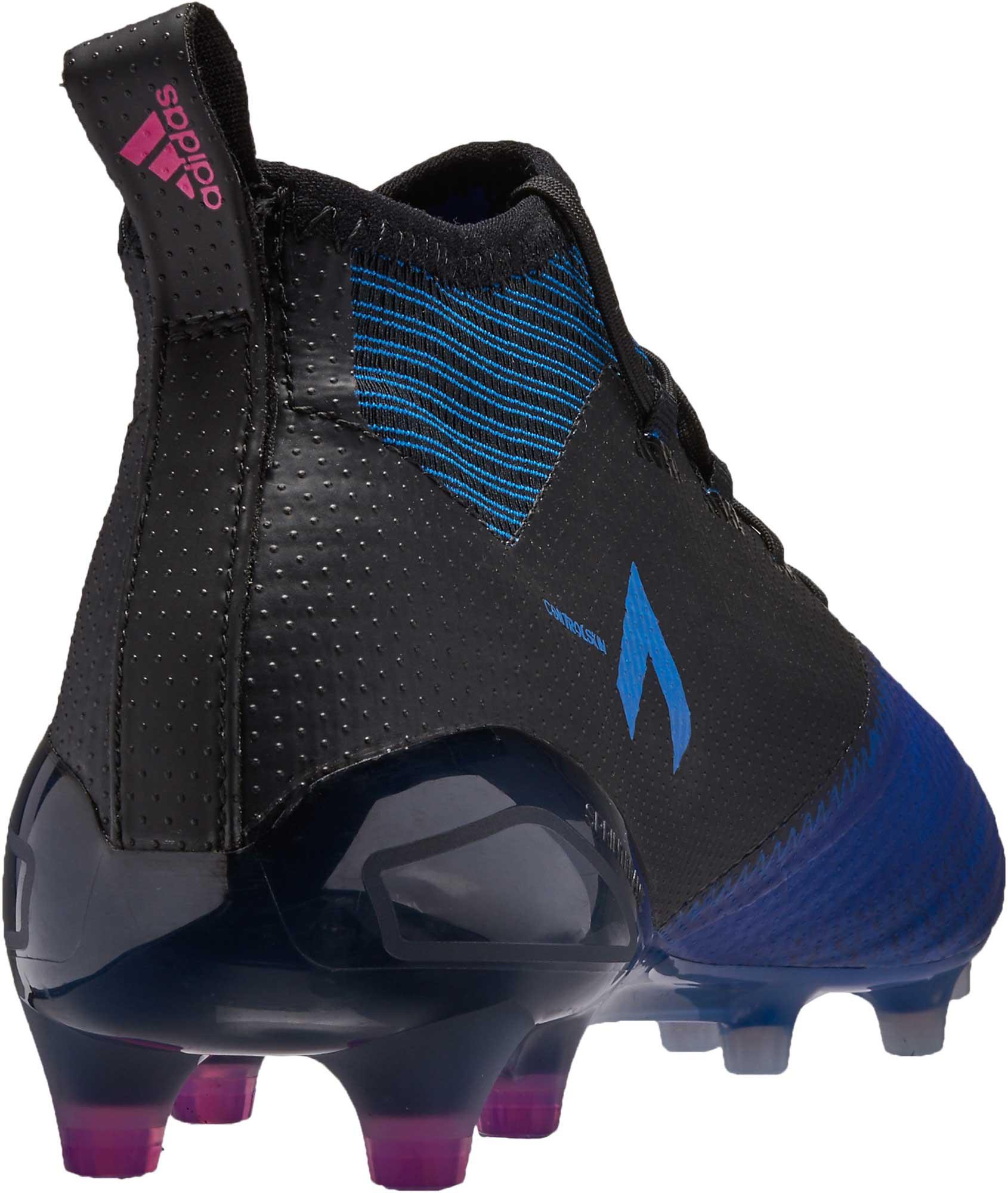 more photos 0e0d0 3cf44 adidas ACE 17.1 Primeknit FG – BlackBlue
