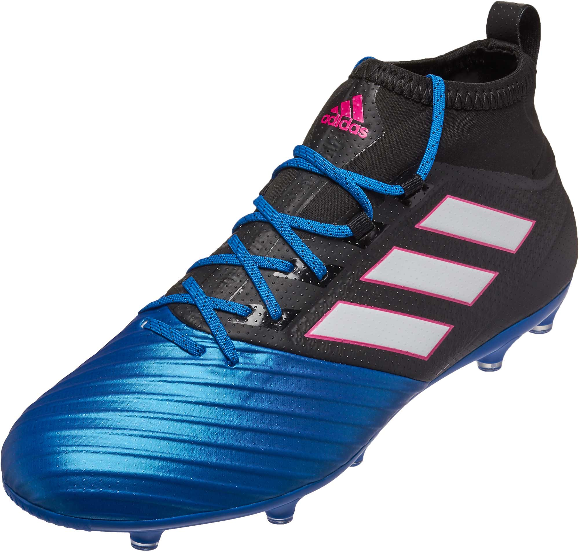 adidas ACE 17.2 Primemesh FG Soccer Cleats - Black
