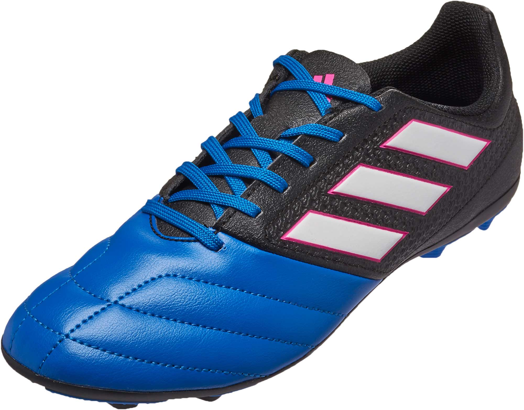 low priced fc1bd 37c95 adidas Kids ACE 17.4 FG – Black/Blue