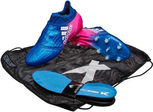 adidas X 16  Purechaos FG – Blue/Shock Pink