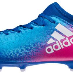 adidas Kids X 16.3 FG Soccer Cleats - Youth Blue X 16.3 5369a4834