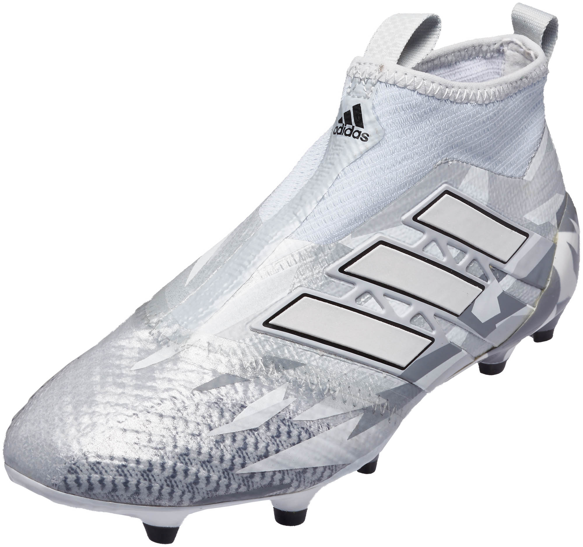 save off 9c74b 7c4b5 adidas Kids ACE 17 Purecontrol FG – Clear GreyWhite