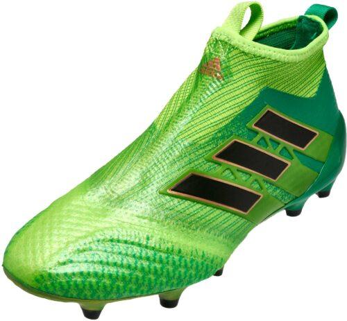 adidas Kids ACE 17  Purecontrol FG – Solar Green/Black