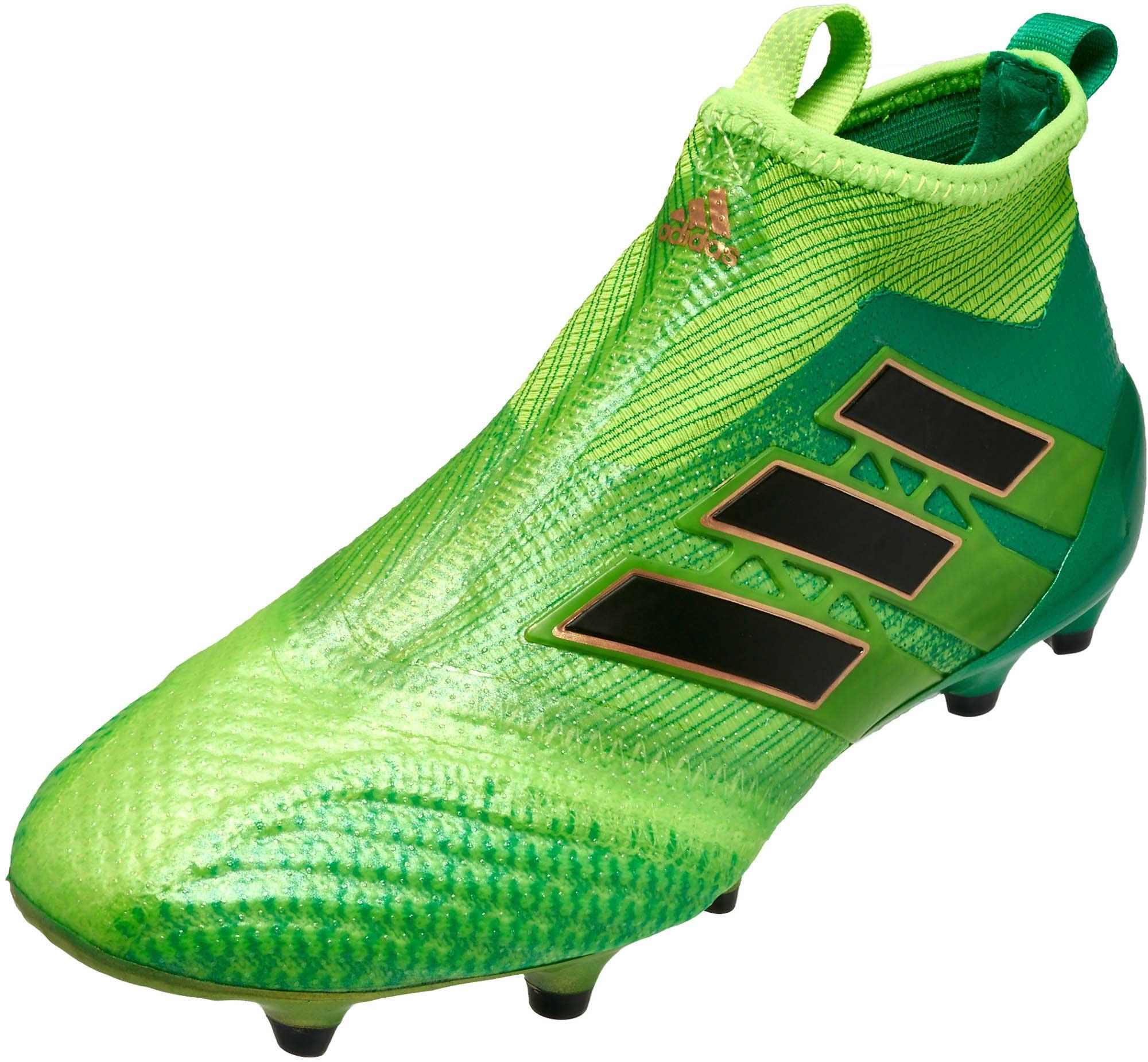 cheaper eced1 e68a8 adidas Kids ACE 17 Purecontrol FG – Solar Green/Black