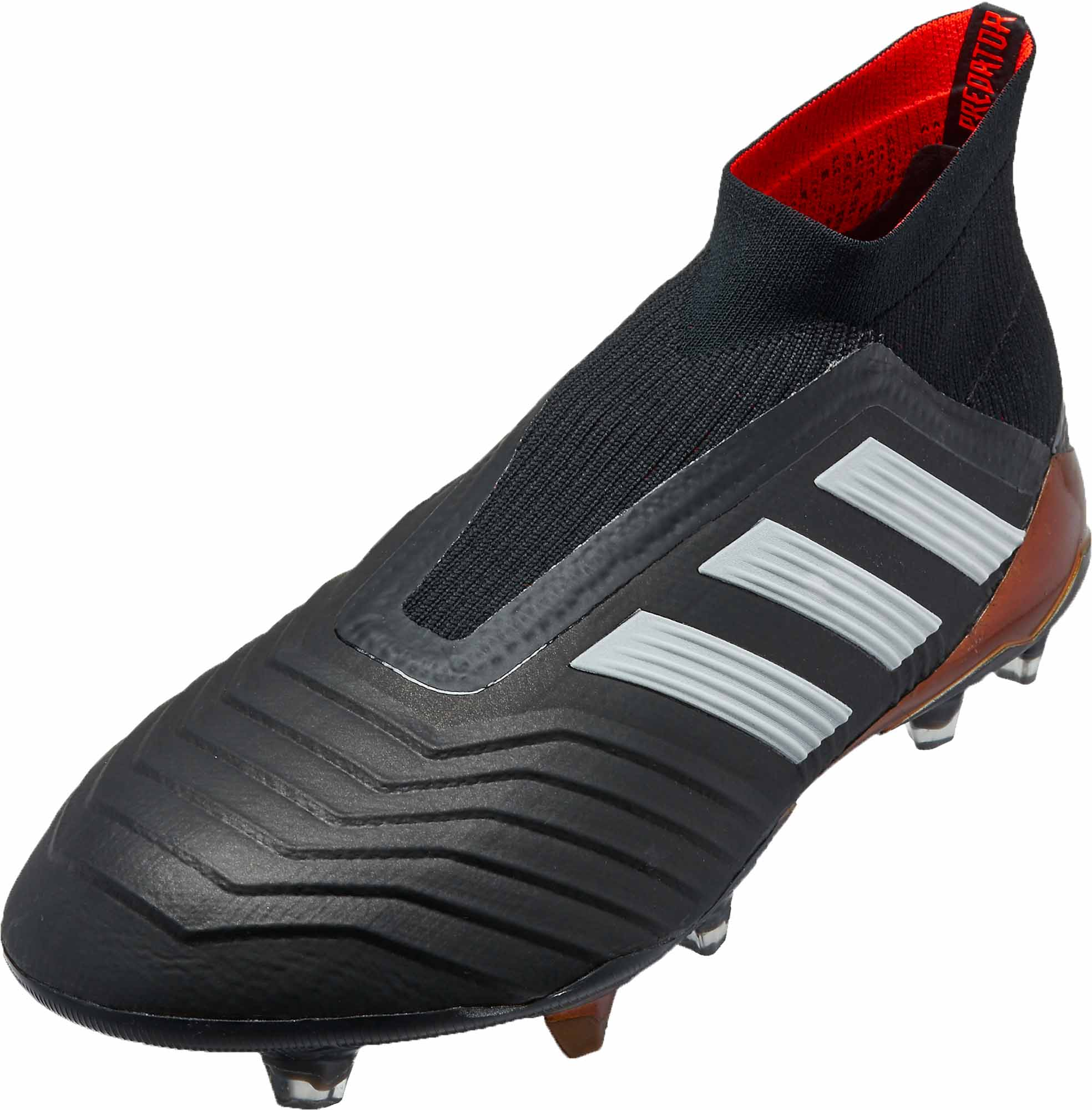 big sale 5d4b4 c7999 adidas Predator 18 FG – BlackSolar Red