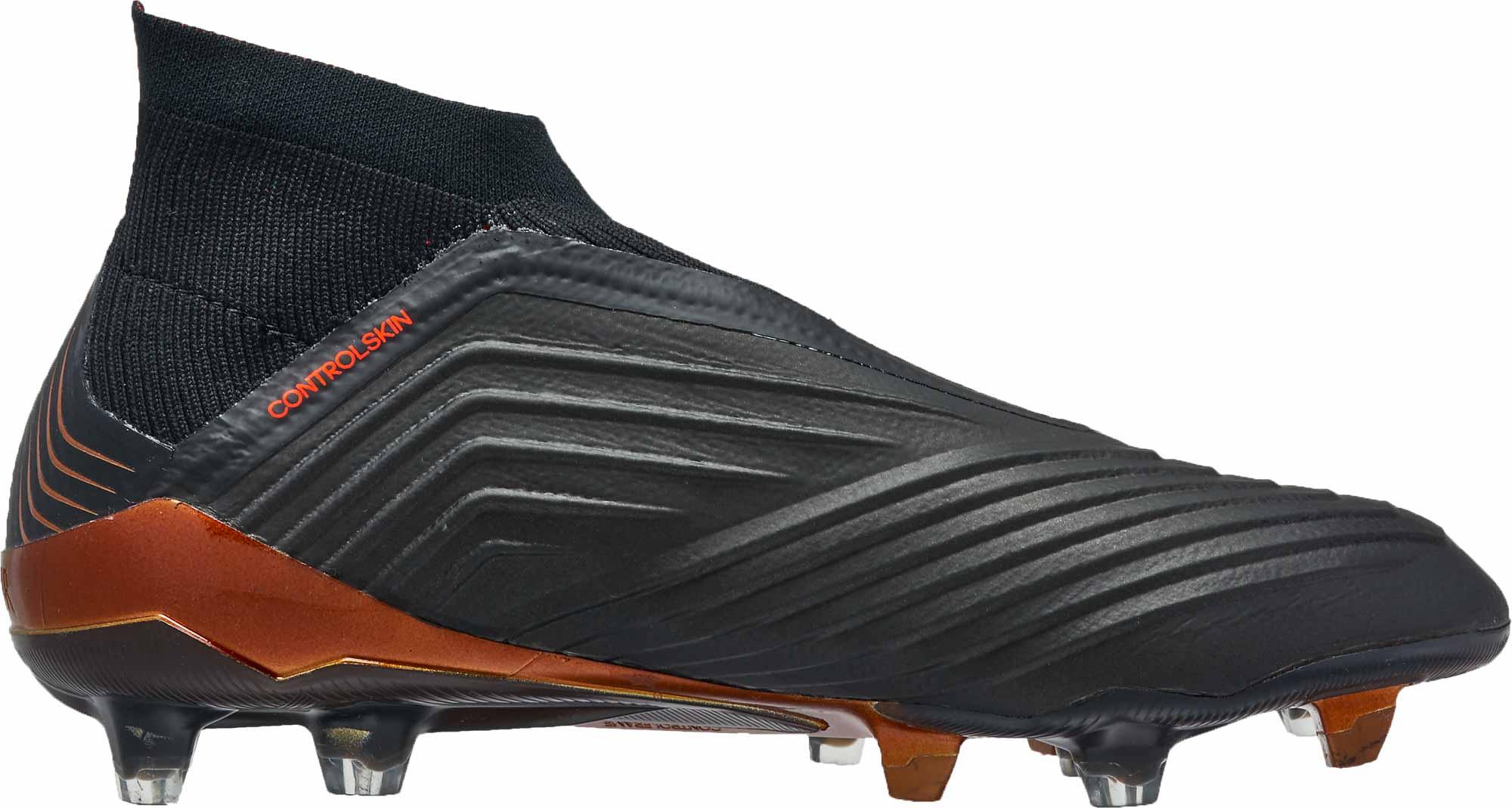 994cc7161550 adidas Predator 18 FG - Black adidas Predators