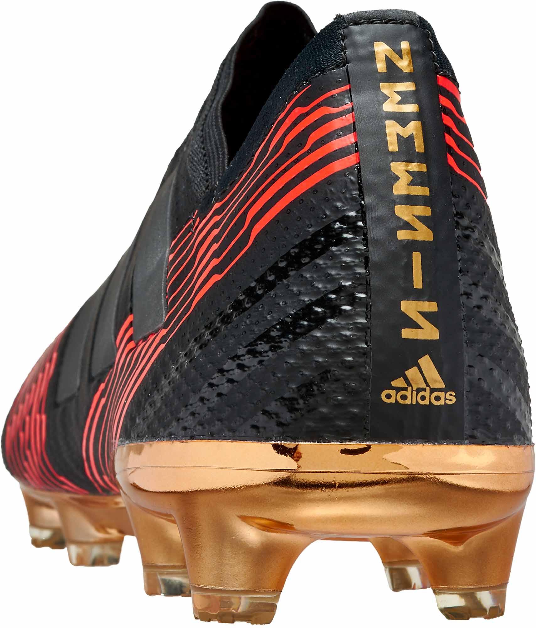 Adidas Nemeziz 17 Fg Black Lionel Messi Soccer Cleats